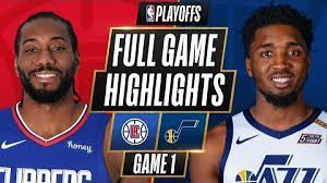 4 CLIPPERS at #1 JAZZ   FULL GAME HIGHLIGHTS   June 8, 2021 - Los Angeles  Times