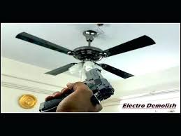 ceiling fan wobble ceiling fan wobble until it falls down 2 blades and 1 blade test