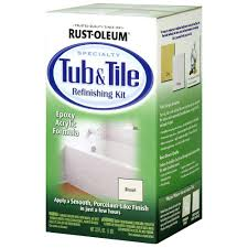 biscuit tub and tile refinishing kit