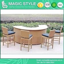 outdoor wicker bar stools rattan bar set wicker bar stool outdoor bar table patio bar chair