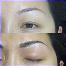 3d hair stroke semi permanent makeup