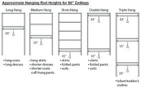 double hang closet rod hanging closet rod standard closet rod height double closet clothes rod height