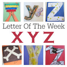 letter of the week x y z