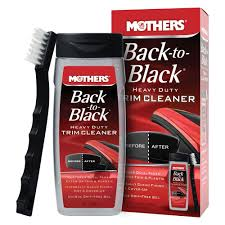 mothers back to black heavy duty trim cleaner kit case of 6