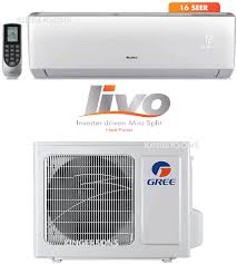 manual and guide for 9000 btu gree livo series livs09hp115v1a split air conditiner seer 16 110v
