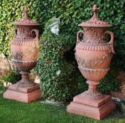 Decorative Garden Urns Antiques Atlas Terracotta Antique Garden Urns 4