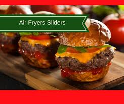 Burger Temp Chart Air Fryer The Best Juiciest Sliders Hamburgers Loaded