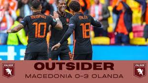 Outsider credibile o fuoco di paglia?     Euro 2020 post Macedonia del Nord- Olanda (0-3) - YouTube