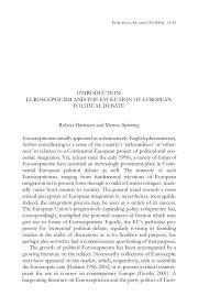 european studies menno spiering robert harmsen euroscepticism   14