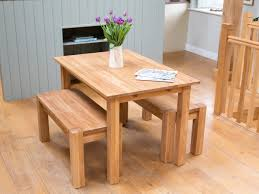 space saving kitchen table ideas new dining table with bench set pertaining to the stylish and