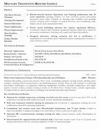 Functional Sample Resume Great Sample Veteran Resume