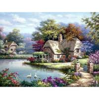Natural <b>landscape</b> painting