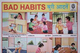 Good Habits Chart For School Indian School Poster Bierbacks