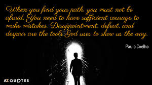 Paulo Coelho Quotes Interesting Paulo Coelho Quotes About Mistakes AZ Quotes