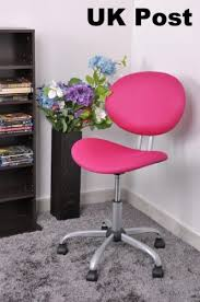 pink office desk. Quality Mesh Recline Back Pink Office Chair Executive Swivel Computer Seat Desk E