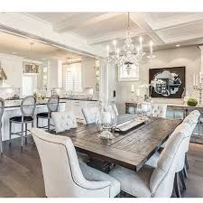 rustic glam has stolen my heart thanks to this beautiful design by gregory funk farm house dinning roomdining
