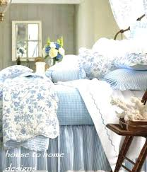 french country toile bedding french country bedding blue quilt by reverses to ticking stripe with bedding sets design