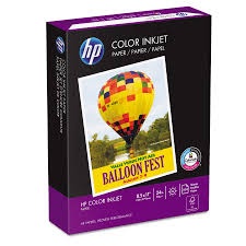 Hp Color Inkjet Paper 97 Brightness 24lb 8 1 2 X 11 White 500