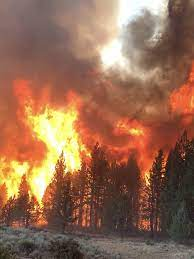 Southern Oregon as Bootleg Fire rages ...