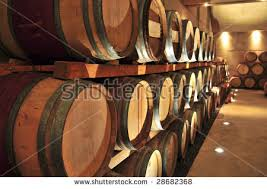 stacked oak barrels maturing red wine. Stacked Oak Wine Barrels In Winery Cellar #28682368 Maturing Red