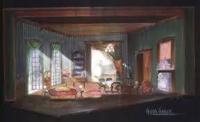 hedda gabler set design set design theatre stage   hedda gabler
