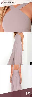 Lulus Size Chart Air Of Romance Taupe Maxi Dress Lulus Style 264682 Taupe