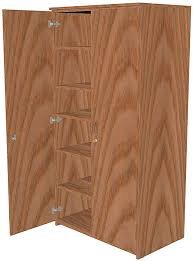 wood storage cabinet. Brilliant Wood Wood Storage Cabinets Full Height  FWROBESHLF  Intended Cabinet