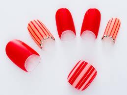 マリングラデーションかわいい赤系夏ネイルデザインカタログall