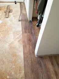 easy to install flooring from allure with included lifeproof rigid core luxury vinyl burnt oak installing vinyl flooring trail oak