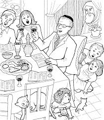 Small Picture Jewish Passover Meal Coloring Page church Pinterest Passover
