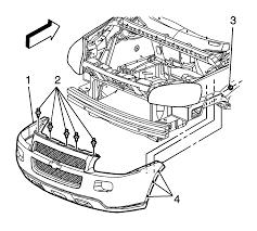 Repair Instructions - Front Bumper Impact Bar Replacement ...