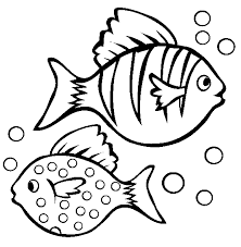 Small Picture Tropical Fish Coloring Pages Clipart Panda Free Clipart Images
