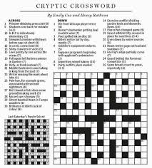 National Post Cryptic Crossword Forum February 2015