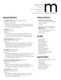 Advertising Resume Updated Advertising Agency Sample Resume 11