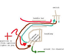 headlight wiring diagram motorcycle headlight rewiring headlamp for low beam always on the sportster and buell on headlight wiring diagram motorcycle