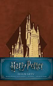 harry potter hogwarts ruled pocket journal 9781683833758 hr