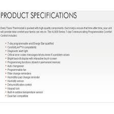 trane outdoor temperature sensor. trane xl900 review outdoor temperature sensor j