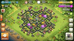 wall level this is my cur hit town hall 9 a few days ago planning on
