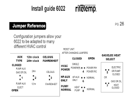 wiring diagram for ritetemp thermostat wiring trane baystat240 to ritetemp 6022 doityourself com community forums on wiring diagram for ritetemp thermostat