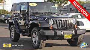 2012 Jeep Wrangler Unlimited Utility 4D Unlimited Rubicon 4WD ...