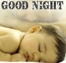 best good night cute baby sleeping