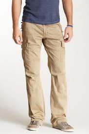 Jimmy Taverniti Slim Bootcut Cargo Pants Men Clothing