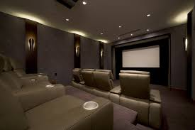 Lamp Decoration Design Interior Engaging Home Theater Design And Decoration Using White LED 57