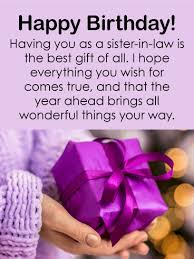 Beautiful Birthday Quotes For Sister In Law Best Of Happy Birthday SisterinLaw Messages With Images Birthday Wishes