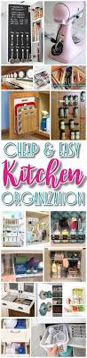 Kitchen Organize 17 Best Ideas About Small Kitchen Organization On Pinterest