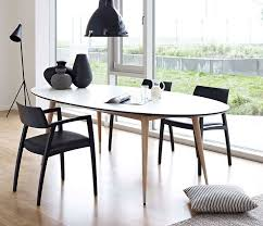 best 25 oval dining tables ideas on white