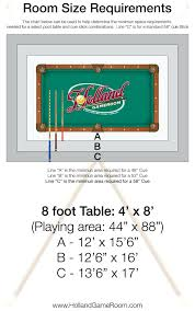 dk billiards gallery of pool table sizes chart surprise what s the best size to have dk billiards replacing pool table