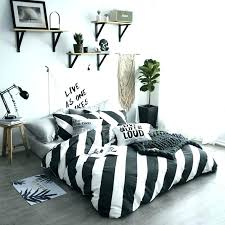 grey and white striped sheets stripe bedding sets twin queen size single double bed linen luxury