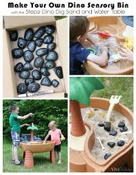 thanks to step2 for sending us the step2 dino dig sand water table