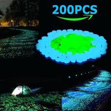 glow in the dark pebbles outdoor rocks stones for fairy garden uk bulk home depot glow in the dark pebbles luminous garden
